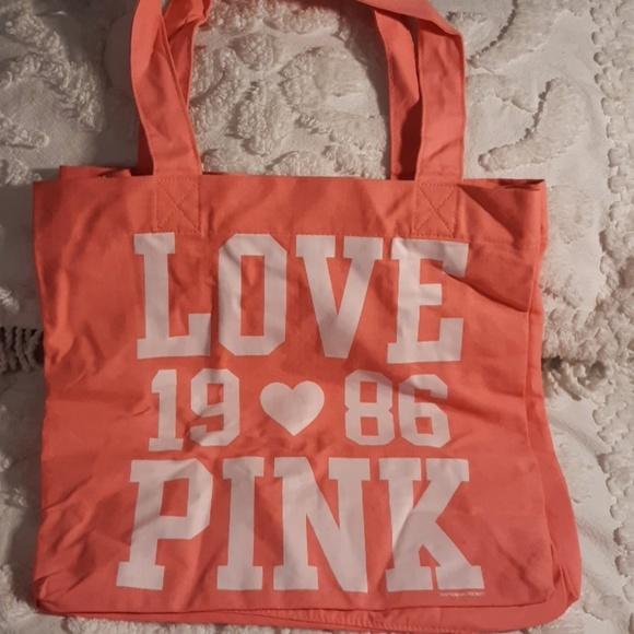 74fa00d8d2 Victoria Secret Pink Love Cotton Tote